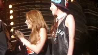 MY BLackjacks Singing Birthday Song to Park Bom (2NE1) - Malaysia TTALive 2013(Malaysian BlackJacks singing birthday song to Park Bom when 2NE1 on TTAlive's stage. Sorry for shaking because all BJs is too high and keep pushing...well, ..., 2013-03-24T10:03:11.000Z)