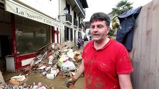 Salies-de-Béarn : un commerçant inondé témoigne