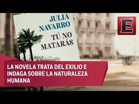 "julia-navarro-presenta-su-novela-""tú-no-matarás"""
