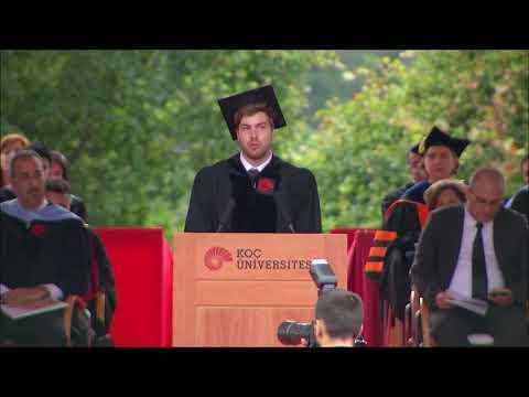 Yörükcan Erbay- Koç Üniversitesi 2017 Okul Birincisi Konuşması/ Valedictorian Speech Koç University