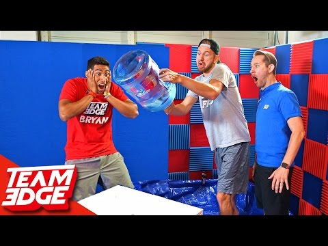Thumbnail: Water Bottle Flip Challenge!! 💦