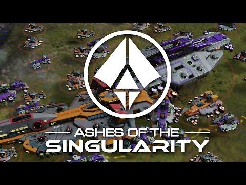 Ashes of the Singularity - HARDEST WAR Amazing Combat Gameplay