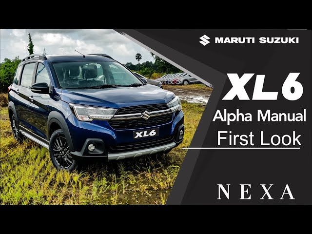 XL6 Alpha Manual - Walkaround | First Look | NEXA Mumbai