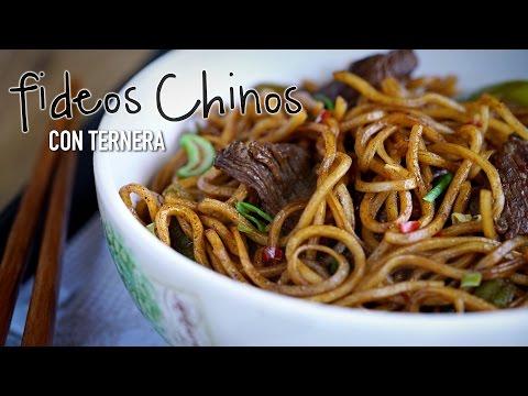 Vídeo-receta: fideos fritos chinos con ternera | Sabor de Asia