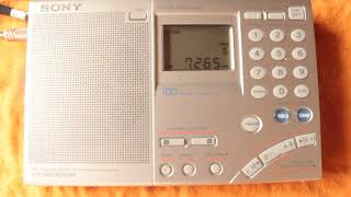 7265 kHz China Radio International Esperanto (Esperanto)