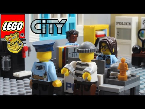 Lego City Police Full Story Stop Motion Animation