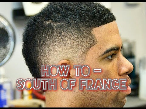 How To Fade South of France Haircut, the Usher Cut, or Burst Fade
