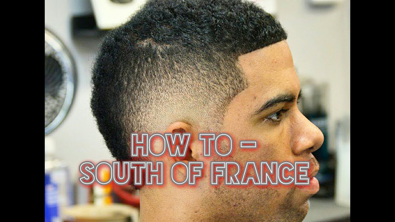 Nice How To Fade South Of France Haircut, The Usher Cut, Or Burst Fade   YouTube