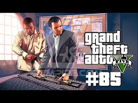 GTA V Walkthrough Part 85 - PLANTING BOMBS IN THE FIB BUILDING