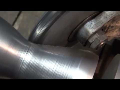 Metal Spinning a Combustion Chamber of Our BPM 5 Rocket Engine