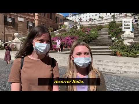 """El regreso """"a fuego lento"""" de los turistas a Italia"""