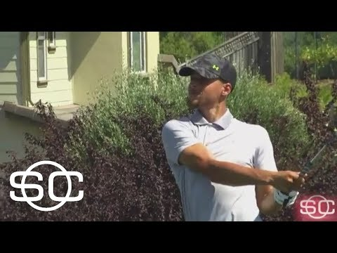 Steph Curry Tuning Up For First Pro Golf Event   SportsCenter   ESPN