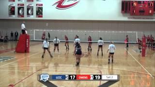 VB: Owens vs Lorain County, Oct. 16, 2015