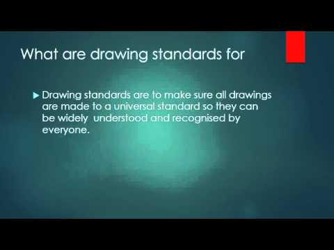 Drawing Standards ISO, European, BS