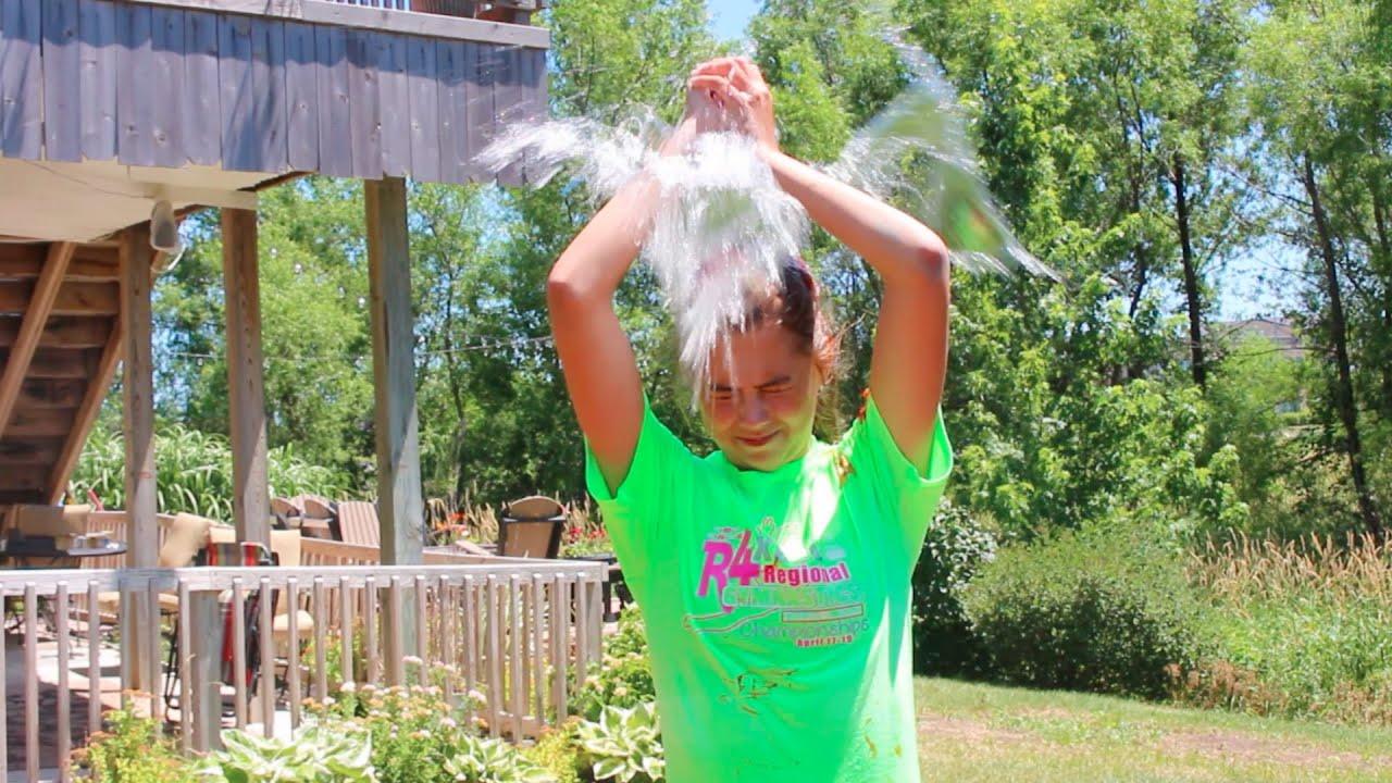 water balloon roulette gymnastics