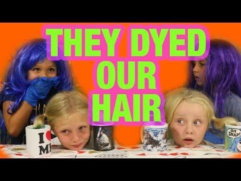 DYEING OUR HAIR DESCENDANTS STYLE! (KOOL-AID DIP DYE)