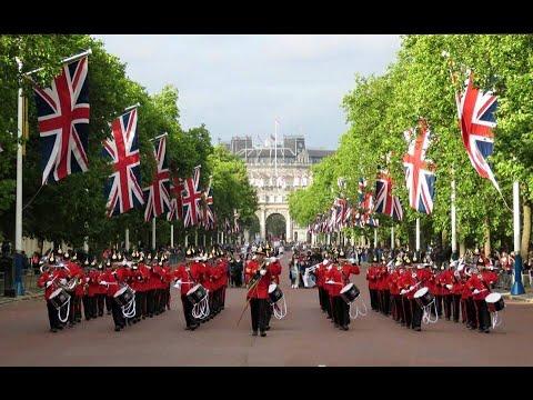 BIYB: Waterloo 200 Parade, The Mall, London