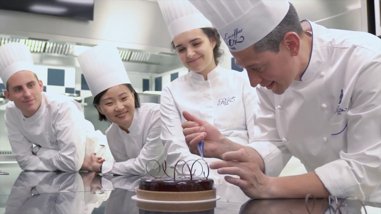 Cooking With A Smile At Ecole Ritz Escoffier Youtube