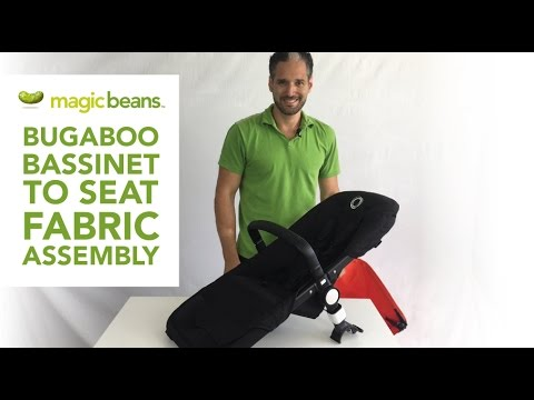 Bugaboo Cameleon 3 Bassinet To Seat Fabric Assembly | Demonstration