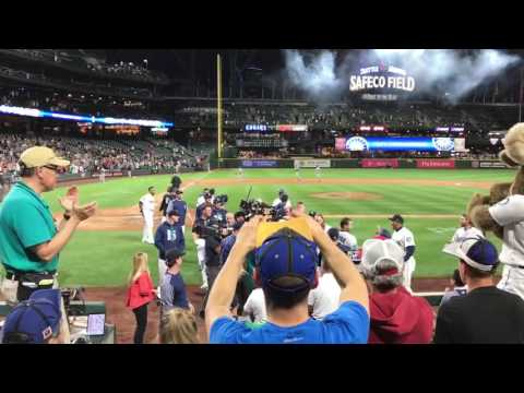 Mariners 9th inning Twins game June 7th 2017