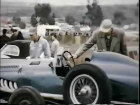 Vintage 50s Sports Car Racing