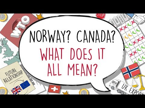 What Brexit trade deal could we get? Norway? Canada? WTO?