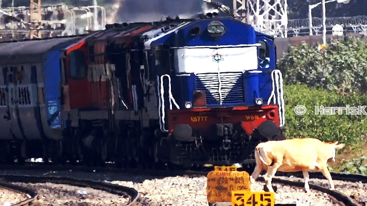 INDIAN RAILWAYS : KARNATAKA EXPRESS (12628 NDLS SBC) - YouTube