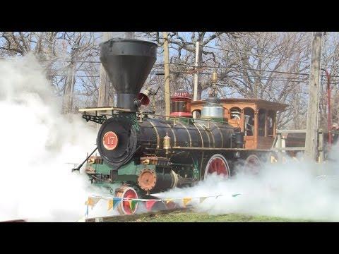 "NCRR 17, The ""York"", 4-4-0 Steam Locomotive on 4-16-2013"