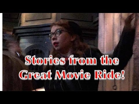 Stories from the Great Movie RIde!