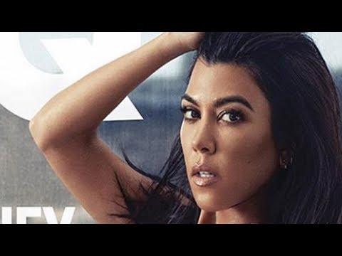 Kourtney Kardashian BARES It ALL On GQ Cover!