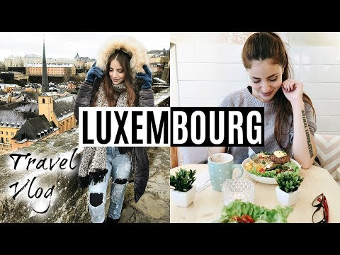 LUXEMBOURG TRAVEL VLOG // WHAT I ATE VEGAN