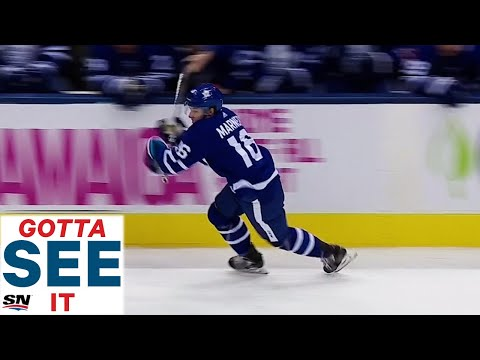 Maple Leafs equipment manager assists on huge goal, deserves pay raise