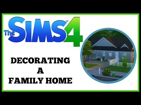 LEARNING BUILDING HACKS! The Sims 4 - Decorating A Family Home Episode 5