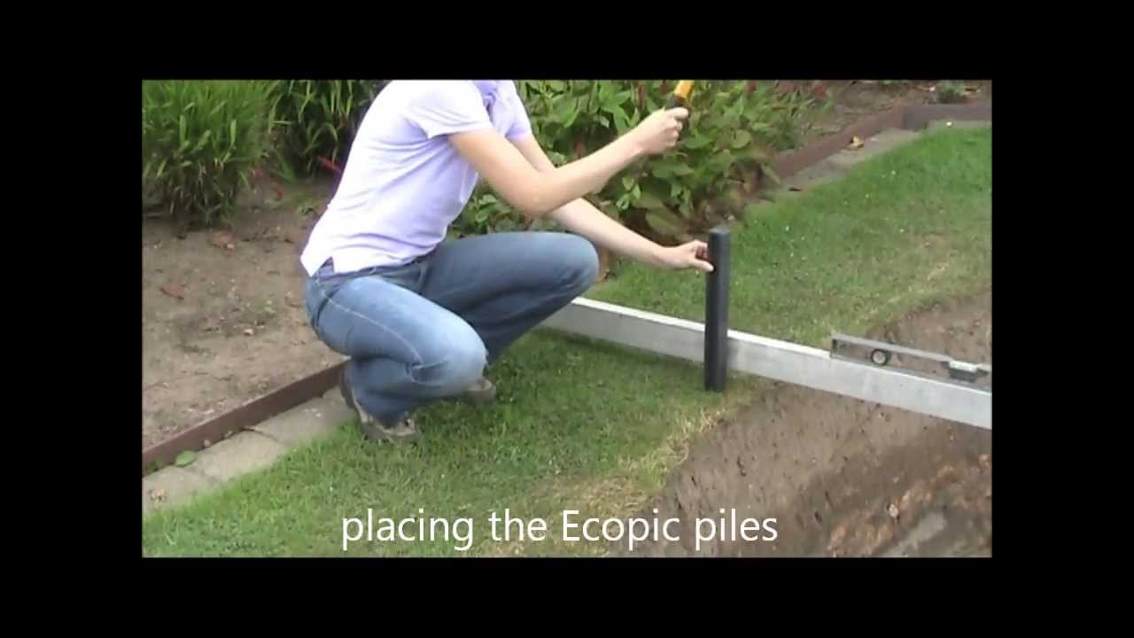ECO-oh! Ecolat And Ecopic Edging For Pond And Garden