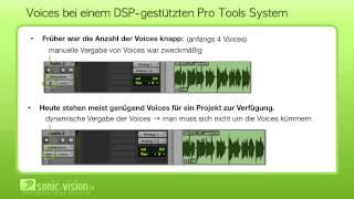 18.2 Pro Tools - AAE, TDM, Plugin-Schnitstellen und Voices