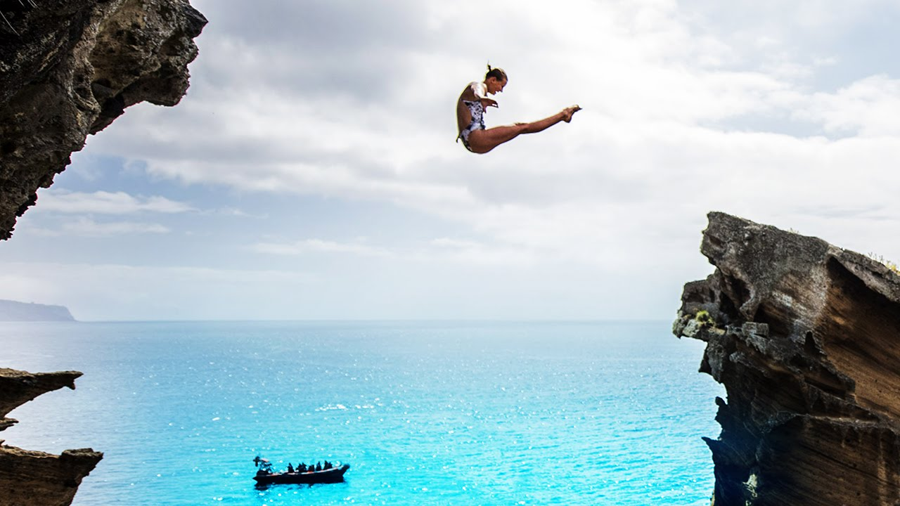 Australian cliff-diving champion | 60 Minutes Australia