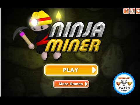Puzzle Ninja Miner Miniclip Online Free Games GAMEPLAY VİDEO