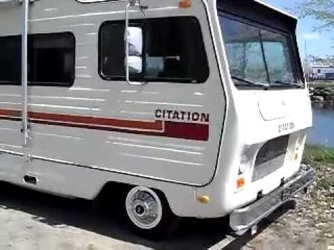 1980 Citation Motorhome Camper Youtube