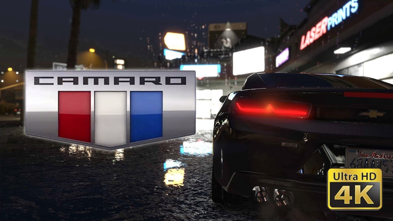 2016 Chevrolet Camaro Ss Gta 5 Live Wallpaper Youtube