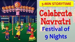 Navratri in 5 MINS! | How to & Why We Celebrate Indian Festivals