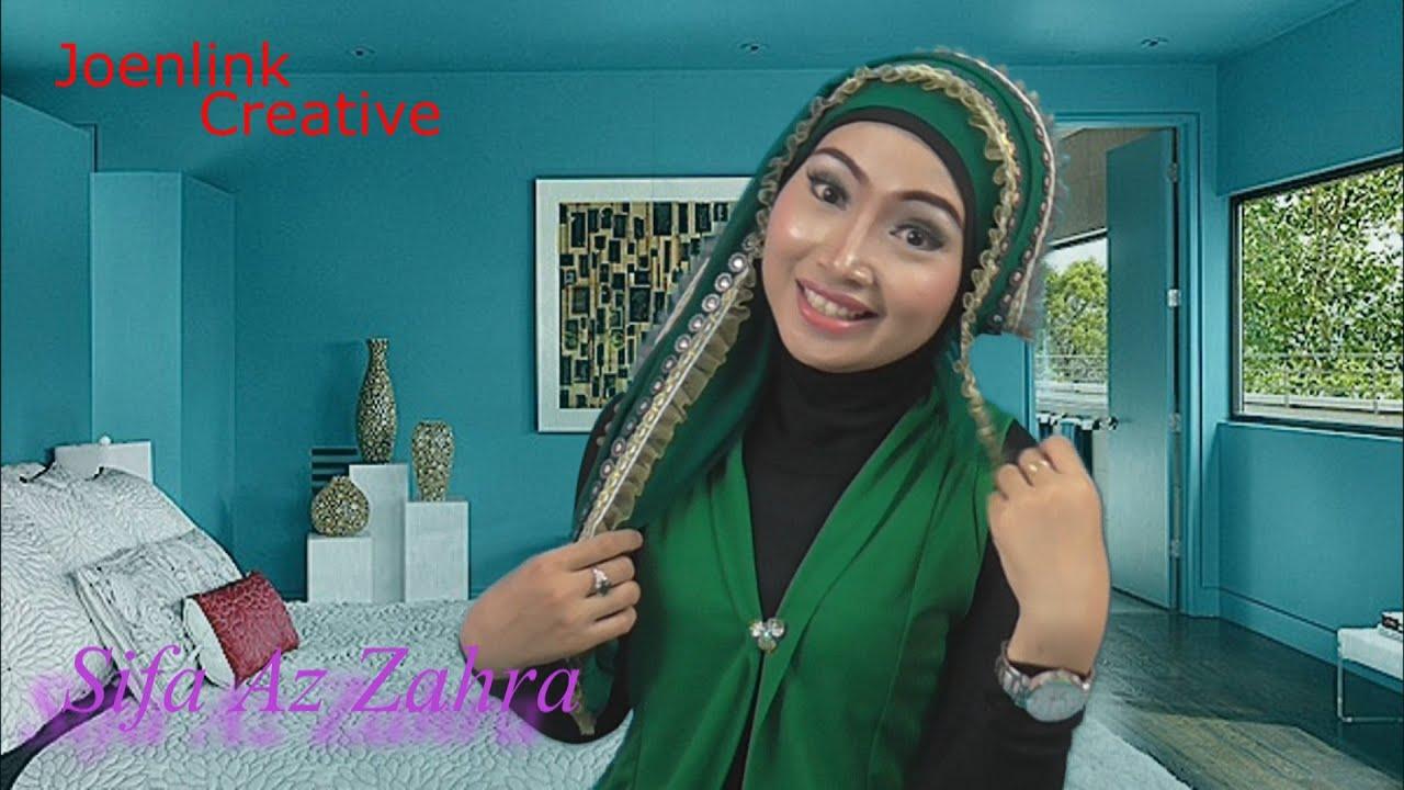 Belajar Pakai Jilbab Ala Sifa AZ YouTube
