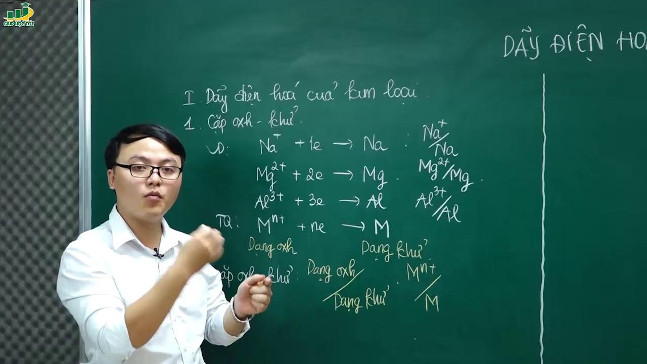 Hóa Học Lớp 12 –Bài giảng Dãy điện hóa của kim loại. Hợp kim Chương Đại cương kim loại