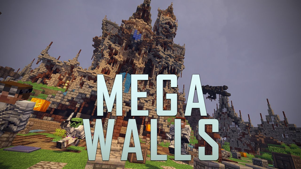 Mega Walls - mc.hypixel.net (Minecraft Minigame) - YouTube