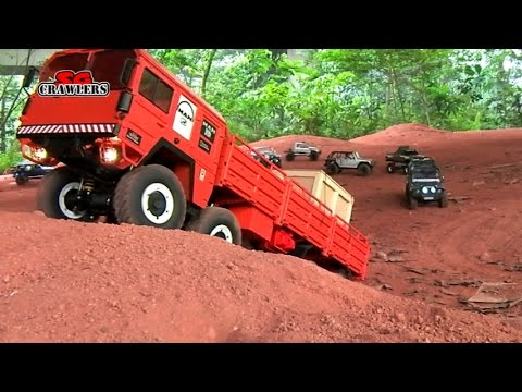 10 Scale Trucks offroad RC 4x4 Adventures - Man Kat scx10 land rover defender 110 rc4wd hilux
