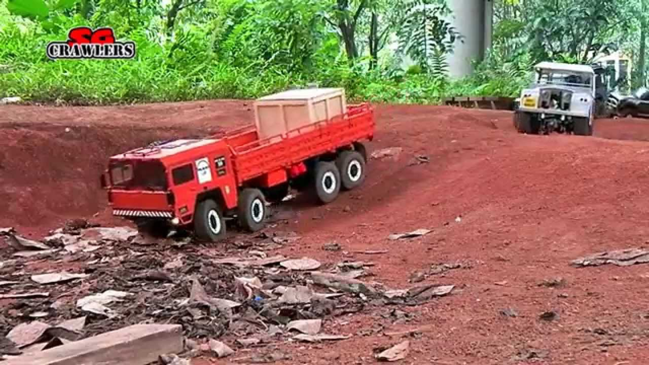 10 Scale Trucks offroad RC 4x4 Adventures - Man Kat scx10 land rover defender 110 rc4wd hilux by SGCrawlers RC / MyHonchoSG