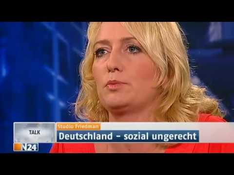 N24   Studio Friedman Deutschland   sozial ungerecht   27 09 2012