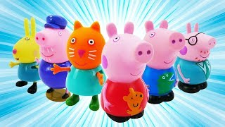 Peppa Pig Full Episodes in English. Peppa Pig, George Pig, Mummy Pig and Daddy Pig @Plushies