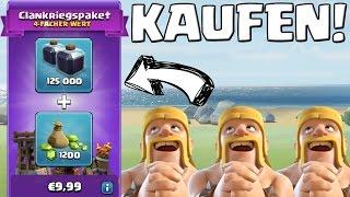 CLANKRIEGSPAKET KAUFEN! || CLASH OF CLANS || Let