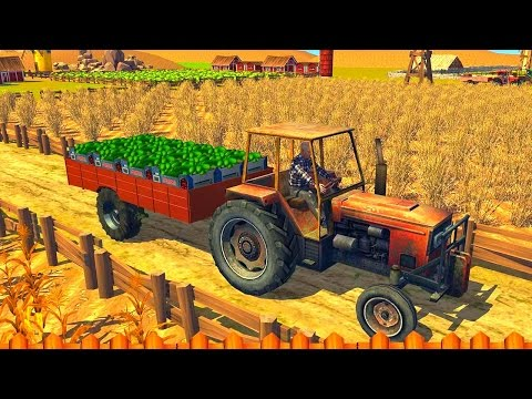 Farm Transport Tractor Driver - Best Android Gameplay HD