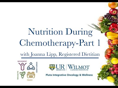 Integrative Oncology: Nutrition During Chemotherapy